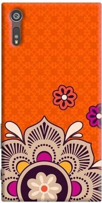 Furnish Fantasy Back Cover for Sony Xperia XZs Multicolor, Plastic