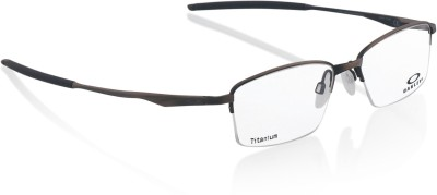 d764ae16fd 30% OFF on Oakley Half Rim Rectangle Frame(54 mm) on Flipkart ...