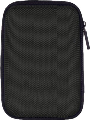 NeroEdge HDD Hard Case /Cover /Pouch with Shockproof Lining 2.5 inch Strong Zippered closure(For All 2.5 Inch Hard Disk, Black)