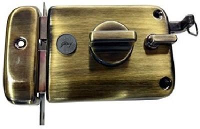 Godrej Ultra Xl+ Twinbolt Antique Brass Lock(Antique Brass)