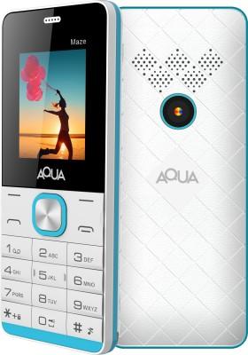 Aqua Maze(White & Blue)