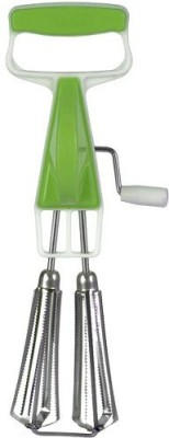 HUNTING HOBBY Blender (Portable) For Mixer Whisker Lassi Maker For Milk Coffee Egg Beater Etc. Plastic, Stainless Steel Spiral Whisk  available at flipkart for Rs.89