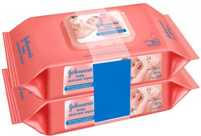 Johnson's Baby Skincare Wipes(160 Pieces)