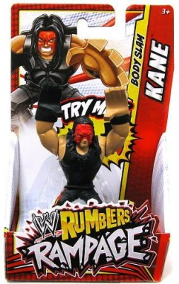 WWE Wrestling Rumblers Mini Figure Kane Body Slam(Multicolor)  available at flipkart for Rs.2446