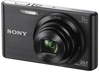 Sony W830 Point & shoot Point & Shoot Camera(Black)