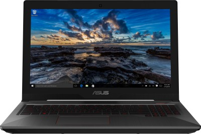 Asus FX503 Core i7 7th Gen - (8 GB/1 TB HDD/128 GB SSD/Windows 10 Home/4 GB Graphics/NVIDIA Geforce GTX 1050) FX503VD-DM112T Gaming Laptop(15.6 inch, Black, 2.5 kg)