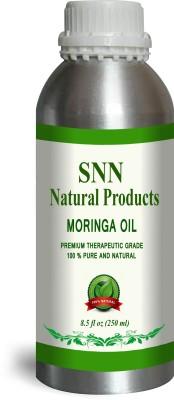 SNN Natural Products 100% Pure & Natural Moringa Oil (Moringa Oliefera)(250 ml)
