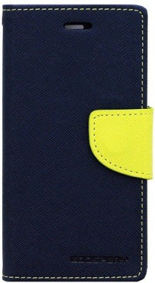 Znyke Case Flip Cover for Motorola Moto E3 Power(Green, Artificial Leather)