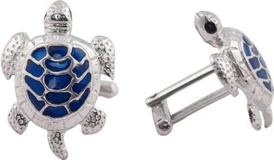 Woman Ambassadors Silver Cufflink(Silver, Blue)