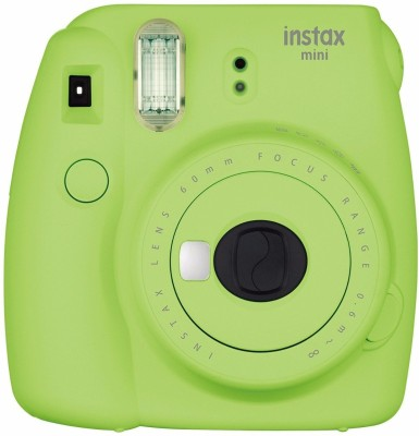 View Fujifilm INSTAX Mini 9 Instant Camera(Green)  Price Online