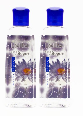 Lovillea Gelly Cologne Musky Floral Pack of 2 Eau de Cologne  -  100 ml(For Men & Women)  available at flipkart for Rs.200