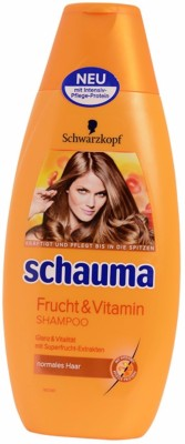 Schwarzkopf Schauma Fruit and Vitamin Shampoo 400ml