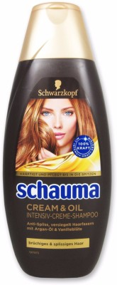 Schwarzkopf Schauma Cream and Oil Intensiv Creme Shampoo 400ml