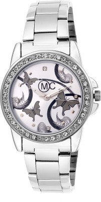 OM COLLECTION Silver Daimond Case with Silver Dail   Casual Watch   Formal Watch   Fashion Wrist Watch For Girls and Women Designer Watches_ Watch  - For Women   Watches  (OM Collection)
