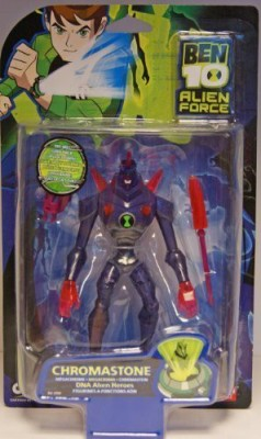 Ben 10 Alien Force Dna Alien Heroes Chromastone 6 Create A Power Surge By Turning Upside Down Moc(Multicolor)