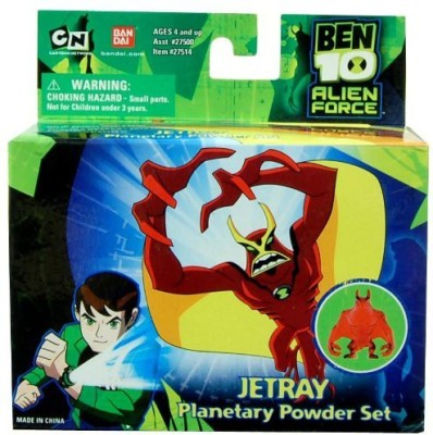 Ben 10 Ten Planetary Powder Set Jetray(Multicolor)