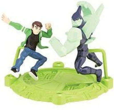 Ben 10 Mini Pvs Ben & Diamondhead 2.5 Inch 2 Pack Mini Figure(Multicolor)