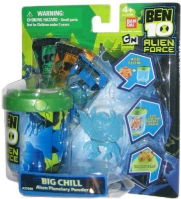 Ben 10 Ten Planetary Powder Set Big Chill(Multicolor)
