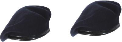 b85ed8452c2 56% OFF on CROSS JAGUAR Solid Unisex French Woolen Beret Cap ...