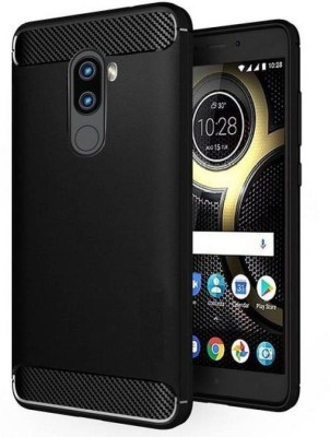 S-Softline Back Cover for Lenovo K8 Note(Black, Rubber) Flipkart