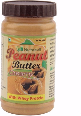 Nutrabuff Peanut Butter with Whey Protein 300 g  available at flipkart for Rs.310