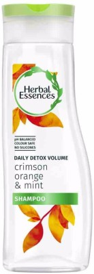 Herbal Essences Daily Detox Volume Crimson Orange and Mint Shampoo 400ml