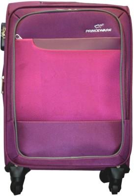 0c7a5d620df8ab 24% OFF on Princeware JORDAN Expandable Cabin Luggage Expandable Cabin  Luggage - 20 inch(Pink) on Flipkart
