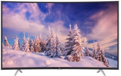 TCL 121.9cm (48 inch) Full HD Curved LED Smart TV(C48P1FS)