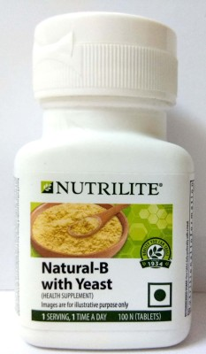 Amway Nutrilite Natural B With Yeast (100 Capsules)