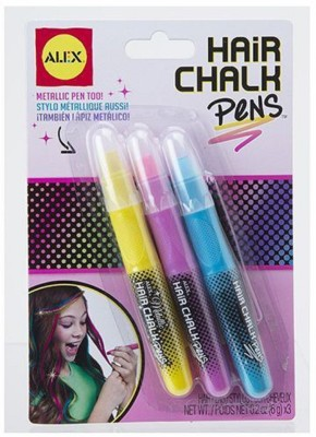 Alex Hair Chalk Pens Pink  available at flipkart for Rs.499