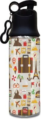 Nutcase Jet Set Travel 750 ml Bottle(Pack of 1, Multicolor)  available at flipkart for Rs.499