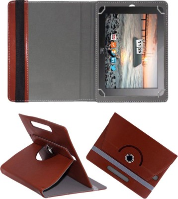 """Fastway Book Cover for HCL Me G1 Tablet 8 GB 10""""(Brown, Cases with Holder)"""