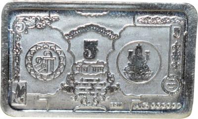 Kataria Jewellers Shree   Laxmi Mata S 999 5 g Silver Bar Kataria Jewellers Coins   Bars