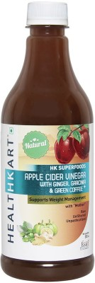 Healthkart Apple Cider Vinegar Garcinia Green Coffee Ginger 500ml