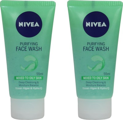 Nivea Purifying combo Face Wash(110 ml)