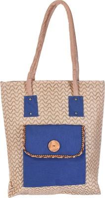 Ethnic Rajasthan Hand-held Bag(Beige)  available at flipkart for Rs.449
