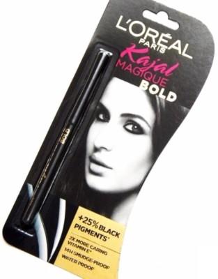 L'Oreal Paris Kajal Magique Bold(Black Pigments)