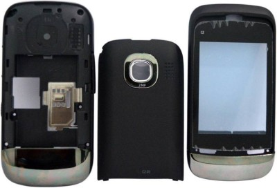 Boom Nokia C2-03 Full Body Housing Mobile Full Panel(Black)