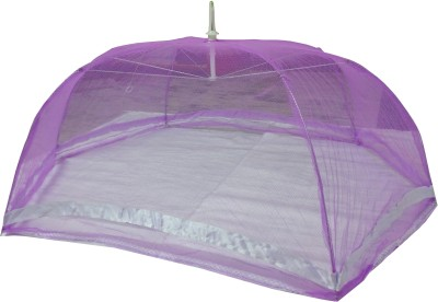 BcH Polyester Infants Exculsive design baby mosquito net 1.4 Mosquito Net(Purple)