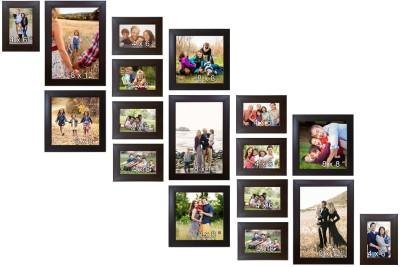 Trends on Wall Acrylic Photo Frame(Brown, 17 Photos) at flipkart