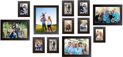 Trends on Wall Acrylic Photo Frame(Brown, 12 Photos) at flipkart