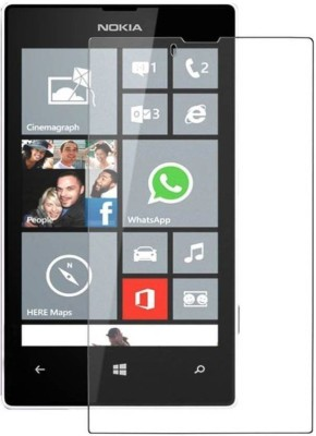 CHVTS Tempered Glass Guard for Nokia Lumia 520(Pack of 1)