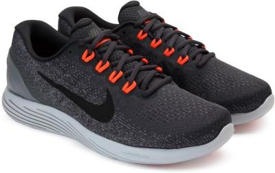 Nike LUNARGLIDE 9 Running Shoes For Men(Grey) 1