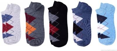 Polon Men's Low Cut Socks(Pack of 5)