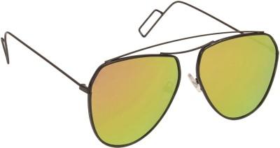 Arzonai Aviator Sunglasses(Yellow