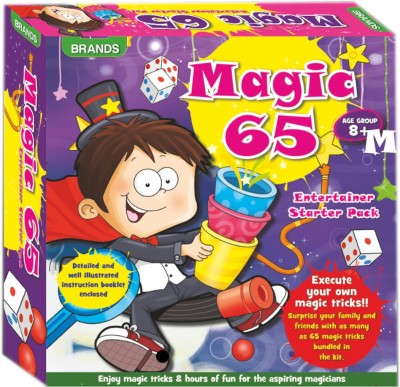 HALO NATION 65 magic Tricks Play Set Magic mantra Brands 65 Magic Tricks(Age: 3 to 8 Years)