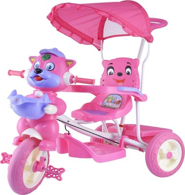 a610c3a60b3 35% OFF on Oximus Latest Baby Tricycle for kids with Shade and Parental  Control With Music (Pink) 518-pink-tricycle Tricycle(Pink) on Flipkart |  PaisaWapas. ...