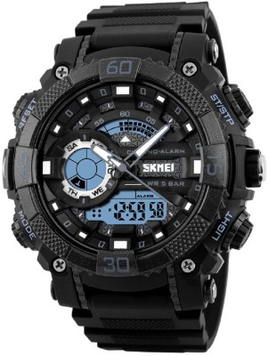 Skmei Analog Digital Multifuction Premium Sports Watch for Men and Boys Analog-Digital Watch  - For Men