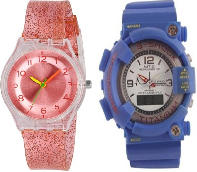 0bc0c8c7c 33% OFF on COSMIC BLUE S SHOCK SUPER STYLISH SPORTS DIGITAL BOYS WATCH WITH  XYZ-SPARKLING RED FEATHER LIGHT WEIGHT girls Watch - For Boys & Girls on ...
