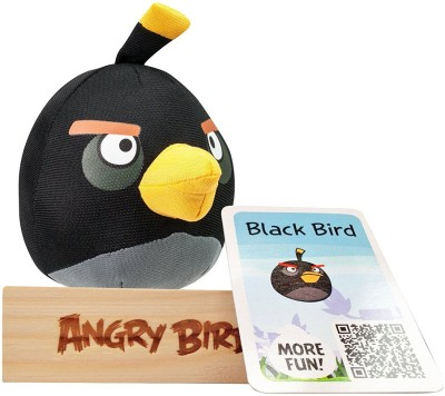 Angry Birds Tactic Black Bird, Multi Color(Black)